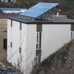 太陽光発電モデルハウス