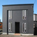 シンプルモダンの家h22